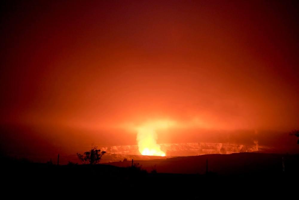 kilieau caldera jaggar museum volcanoes national park