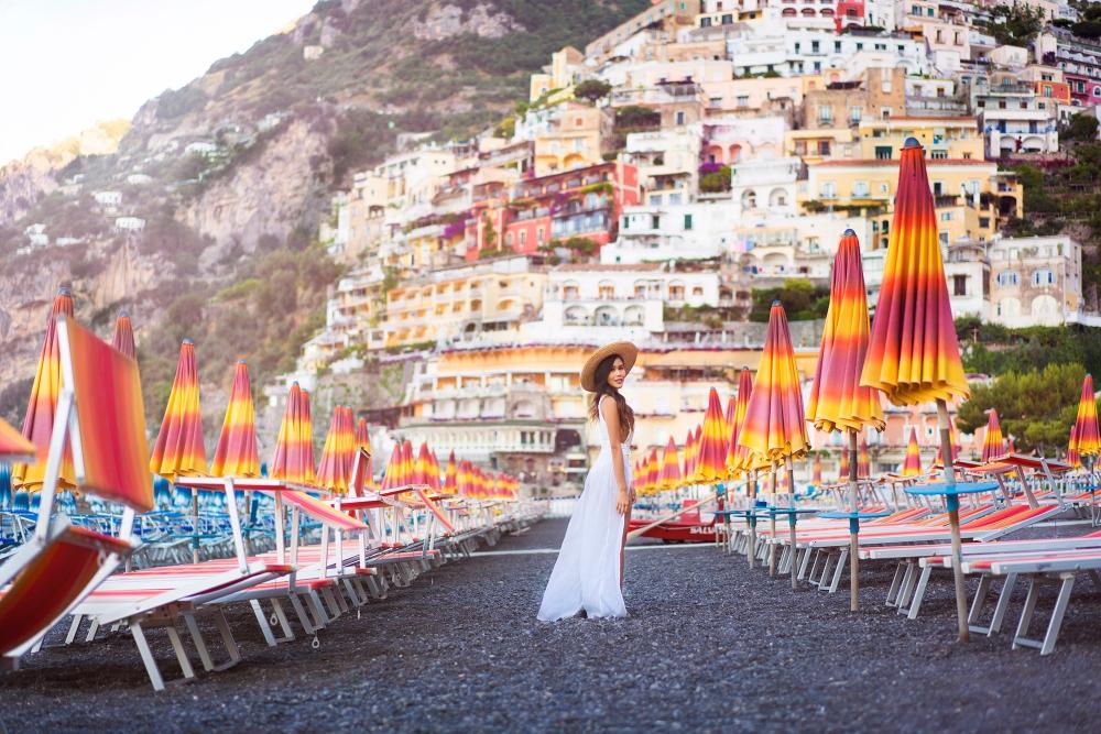 Amalfi Coast Spiagga Grande Beach