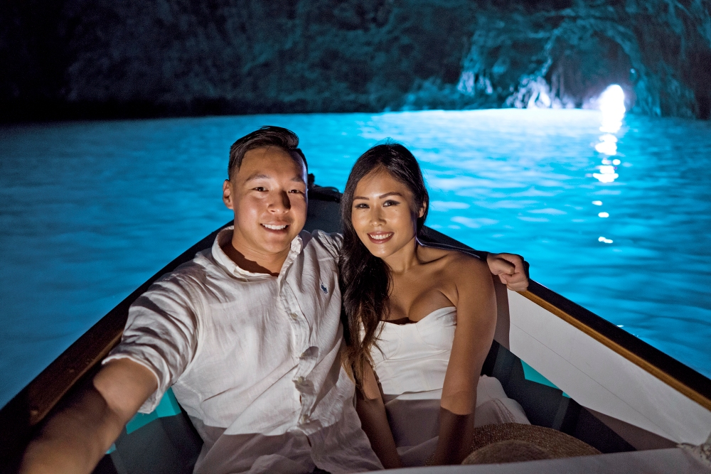 Blue Grotto Boat Experience Day Trip from Positano