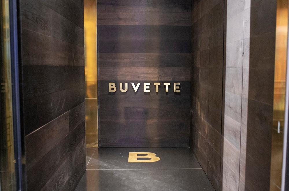 Buvette Restaurant Entrance - Canberra Australia