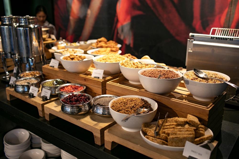 Hotel Realm Buvette Breakfast Buffet - Canberra Australia