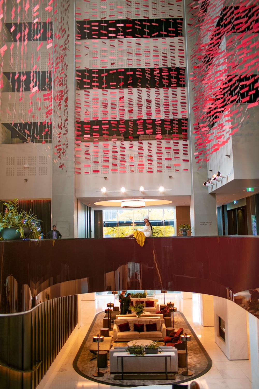 Hotel Realm Canberra Modern Lobby