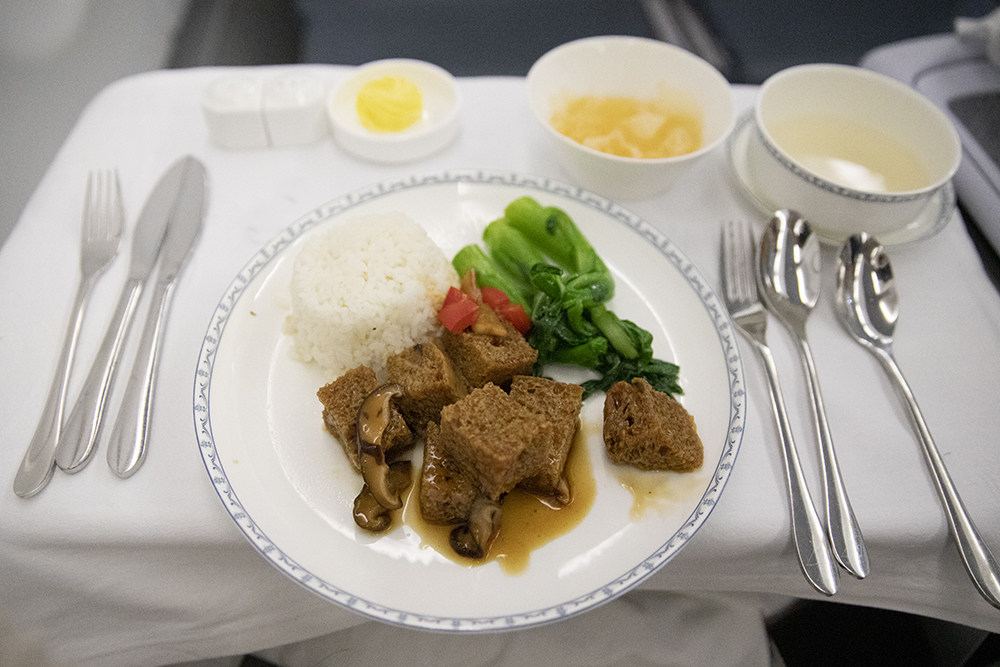 Dinner China Southern Airlines