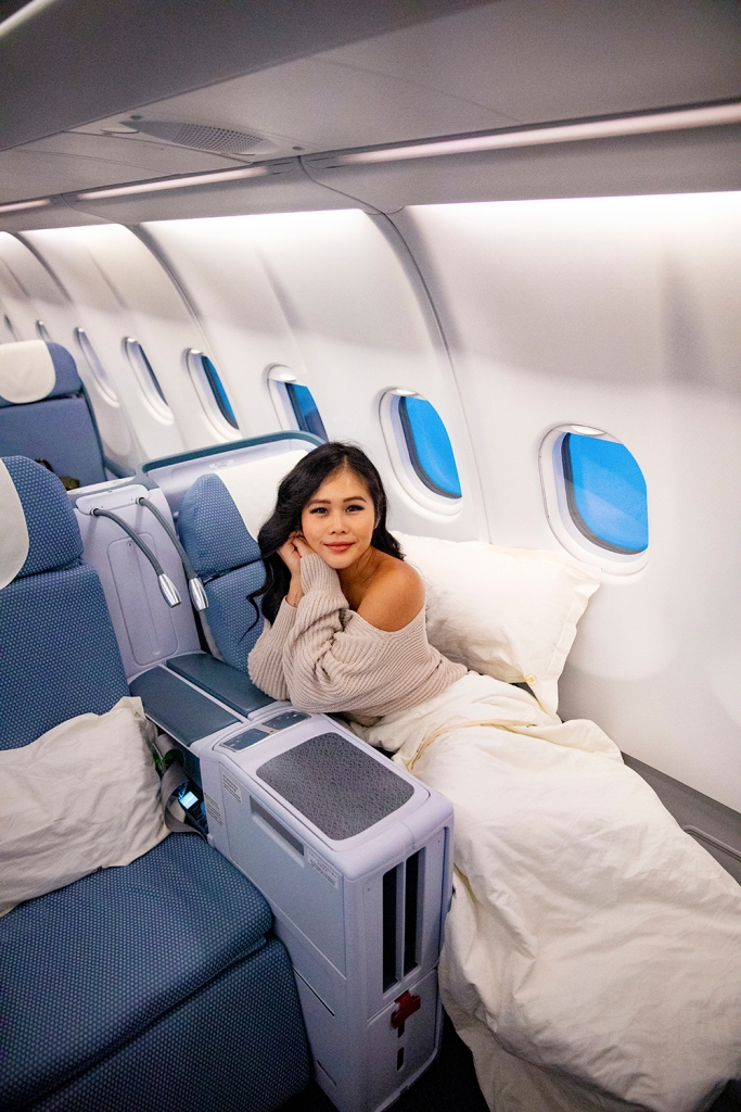 Flying Business Class with China Southern Airlines