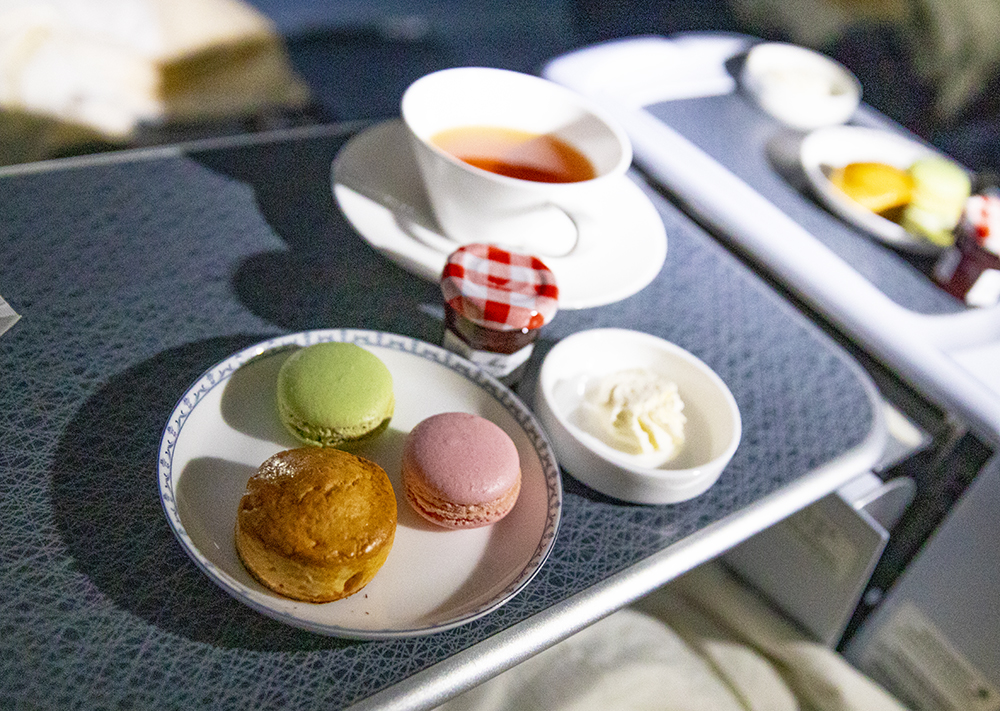 Afternoon Tea on China Southern Air Business Class