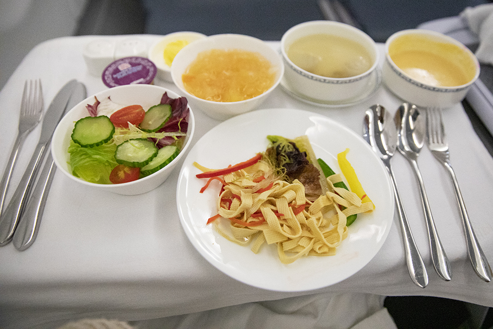 Entree China Southern Airlines Vegetarian