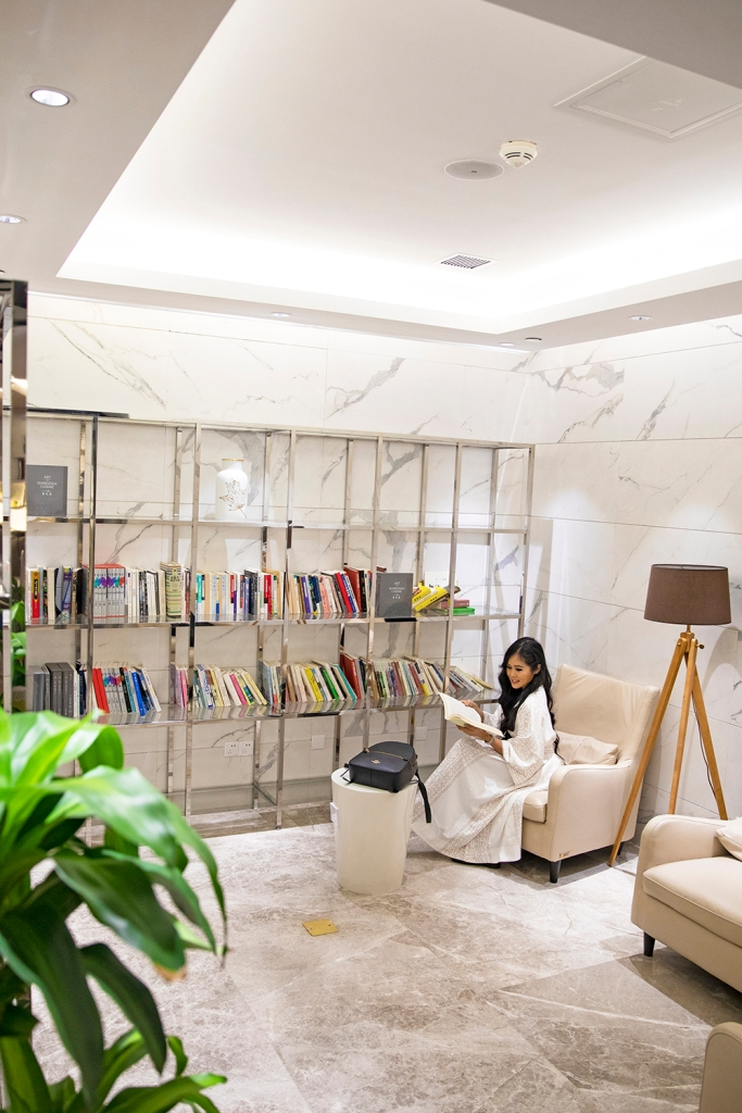 Reading Area at China Southern Airport Lounge