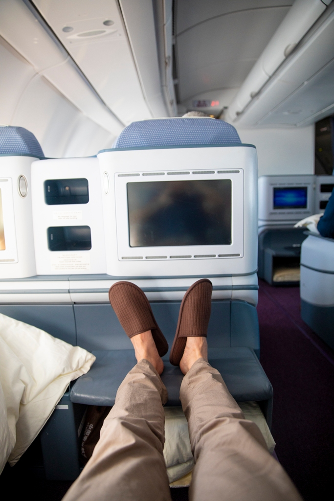 Leg Space in Business Class China Southern Air